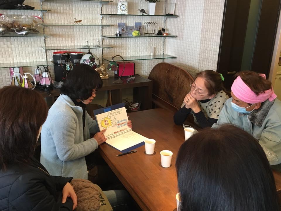 川辺文枝さん(神奈川)が地域のお祭りで紙芝居ツールを使って認知症のお話を♬