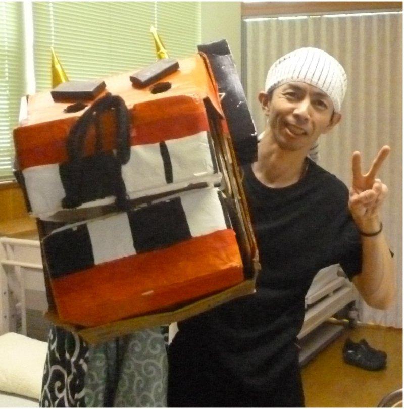 吉田伸大さん(京都)が紙芝居ツールを使って職場で認知症のお話を♬