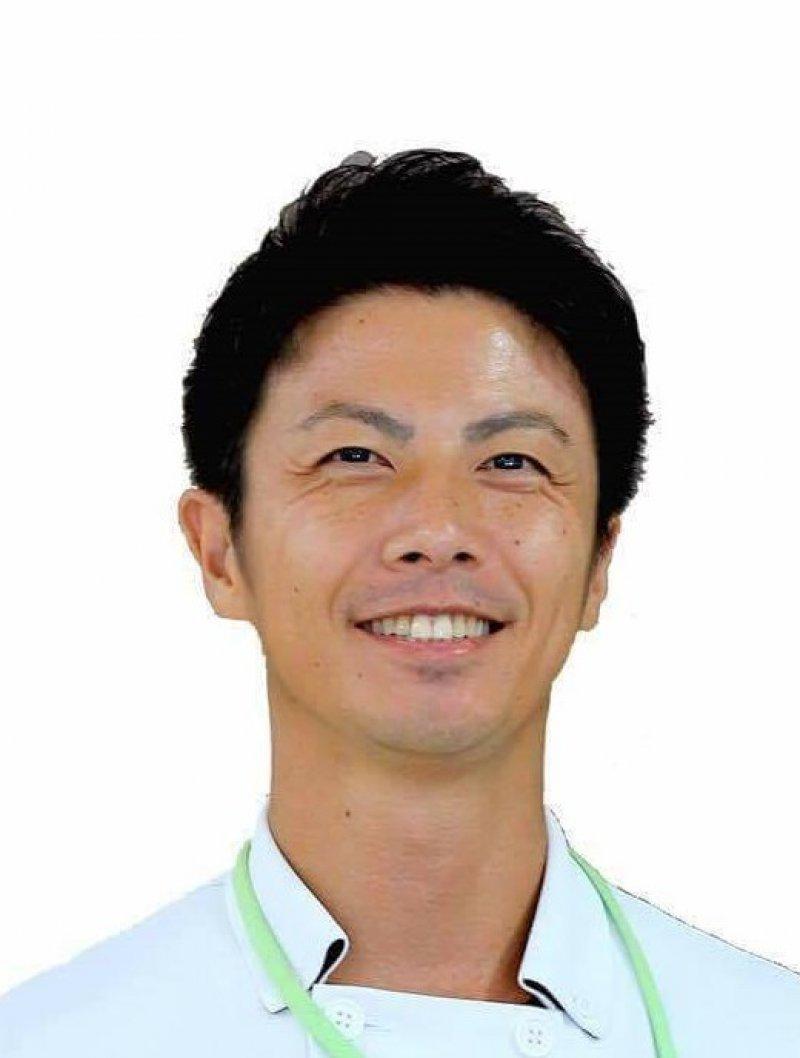 山口健一さん(長崎)が紙芝居スライドを使って訪問介護の職員さんに認知症研修を♬