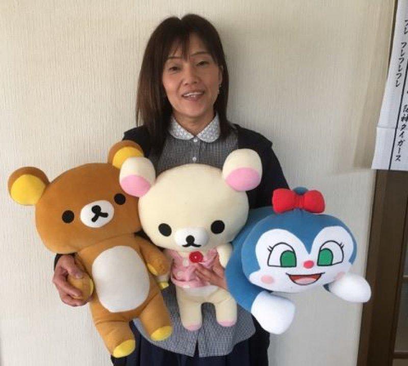 廣島由美子さん(滋賀)が子ども向け紙芝居を使って職場で認知症のお話を♬