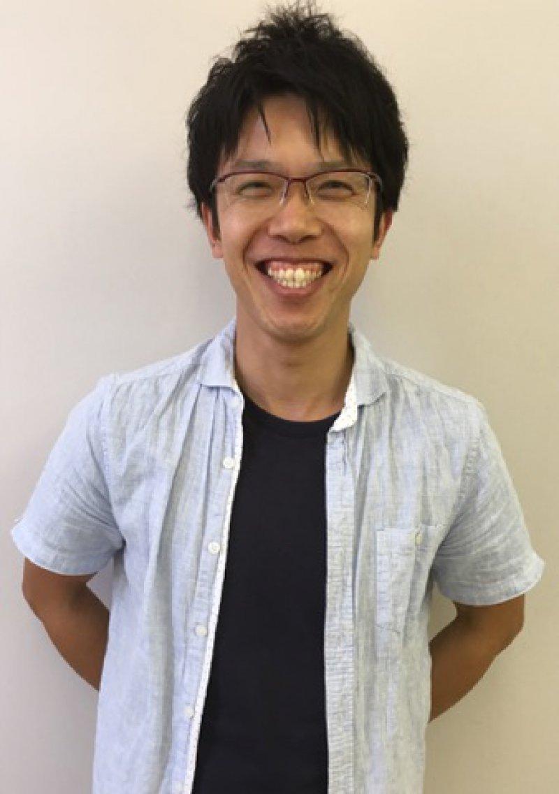 前田泰史さん(岡山)が、紙芝居スライドを使って認知症のお話を♬