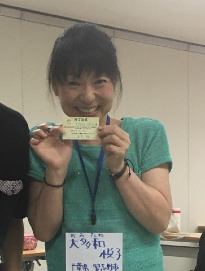 大多和悦子さん(千葉)が、紙芝居を使って認知症のお話を♬