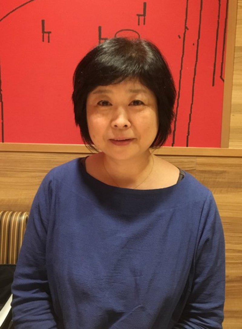 山崎千寿子さん(神奈川)が、紙芝居を使って認知症のお話を♬