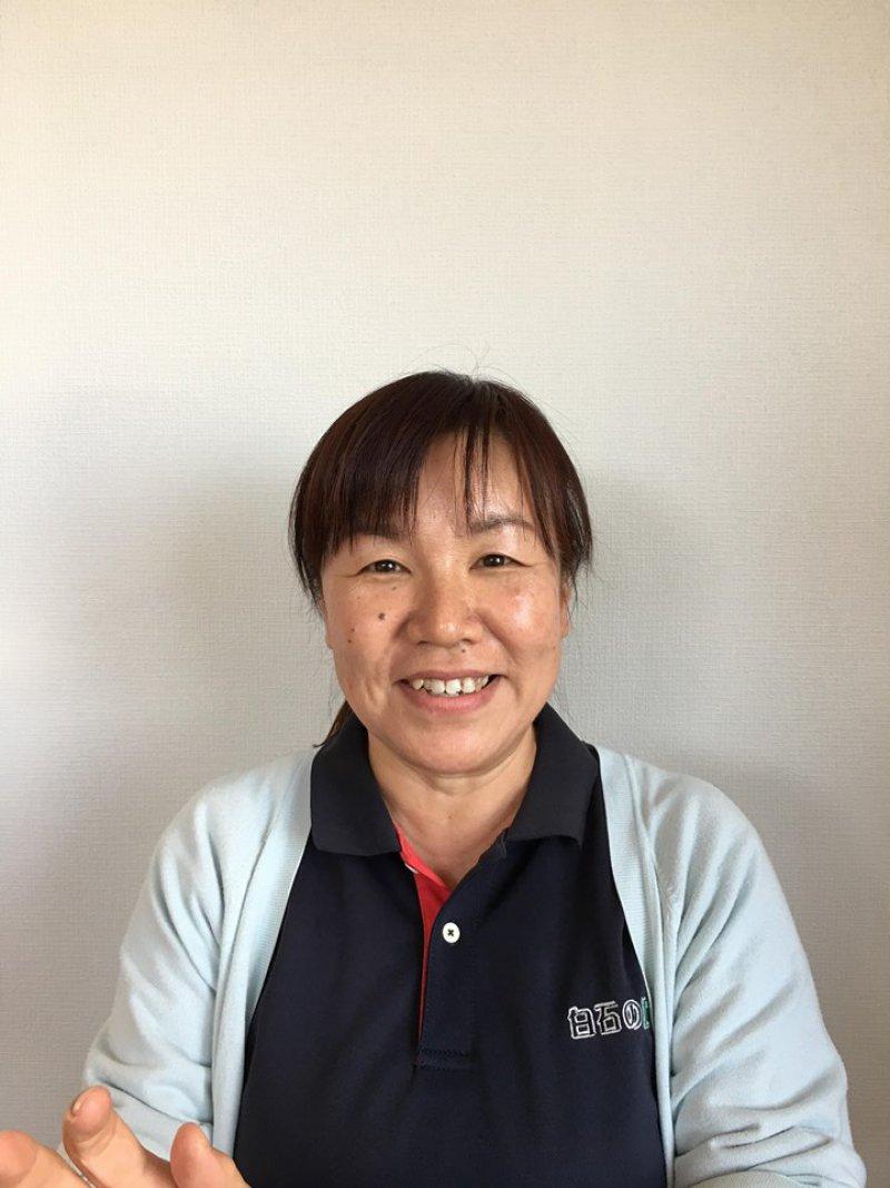 重富千夏さん(佐賀)が、職場の新人さんに紙芝居を使って認知症のお話を♬