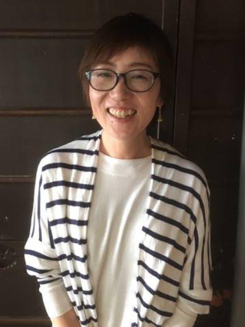 佐藤香絵子さん(滋賀)が、職場近くの中学校で認知症のお話を♬