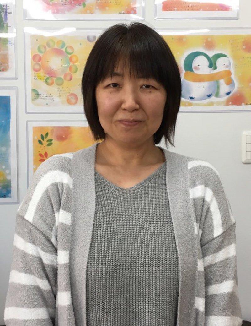 三浦久子さん(東京)が、紙芝居を使って認知症のお話を♬