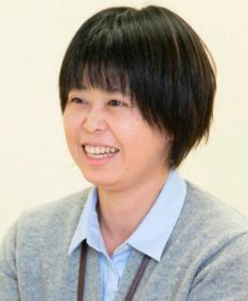 星 良子さん(千葉)が、市役所職員さんに認知症のお話を♬