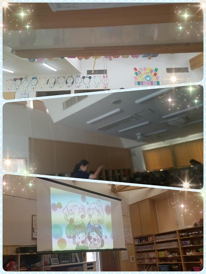 新田紀子さん&坂本美穂さん(埼玉)が、夏休みの学童保育で認知症のお話を♬