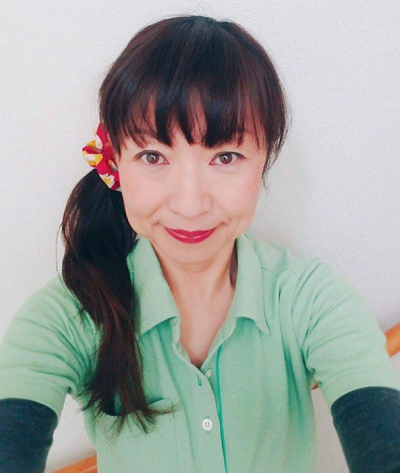 大多和悦子さん(千葉)が、キャラバンメイトとしてデビュー、中学校で認知症サポーター養成講座を♬
