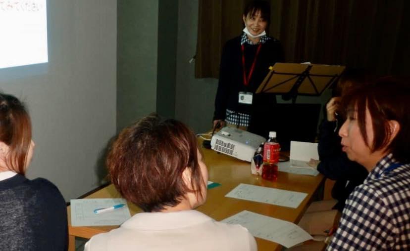 田中 葵さん(新潟)が、職場で認知症の研修を♬