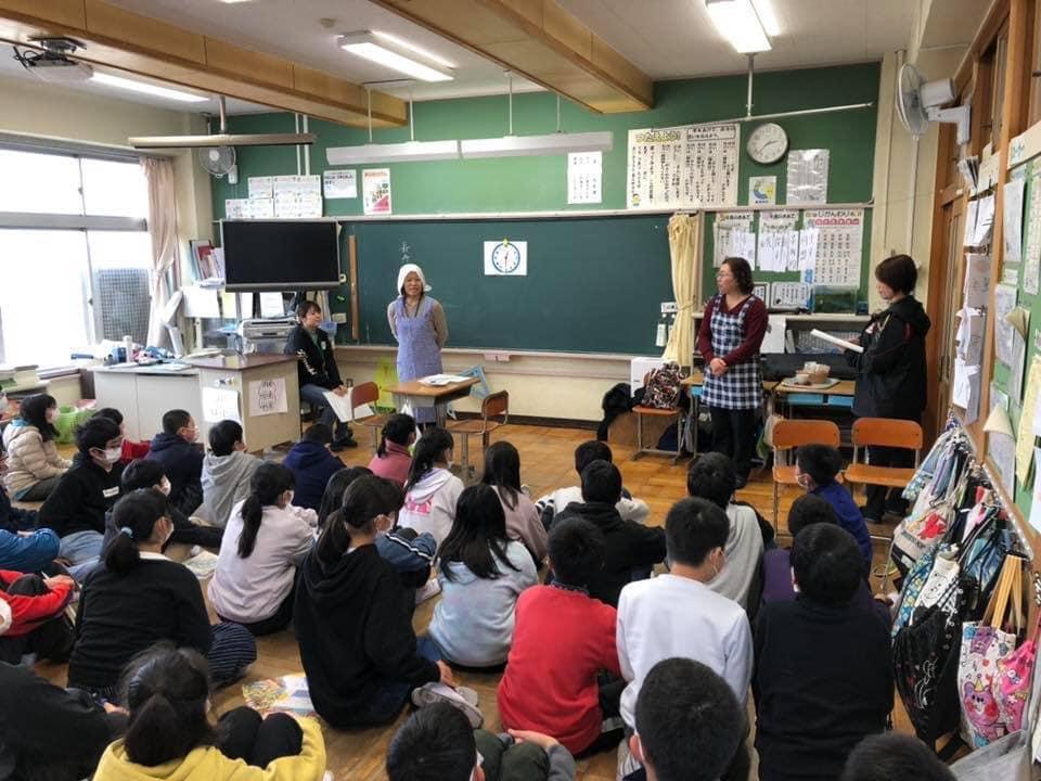 黒川三貴さん(茨城)が、子どもの通う小学校で認知症サポーター養成講座を♬
