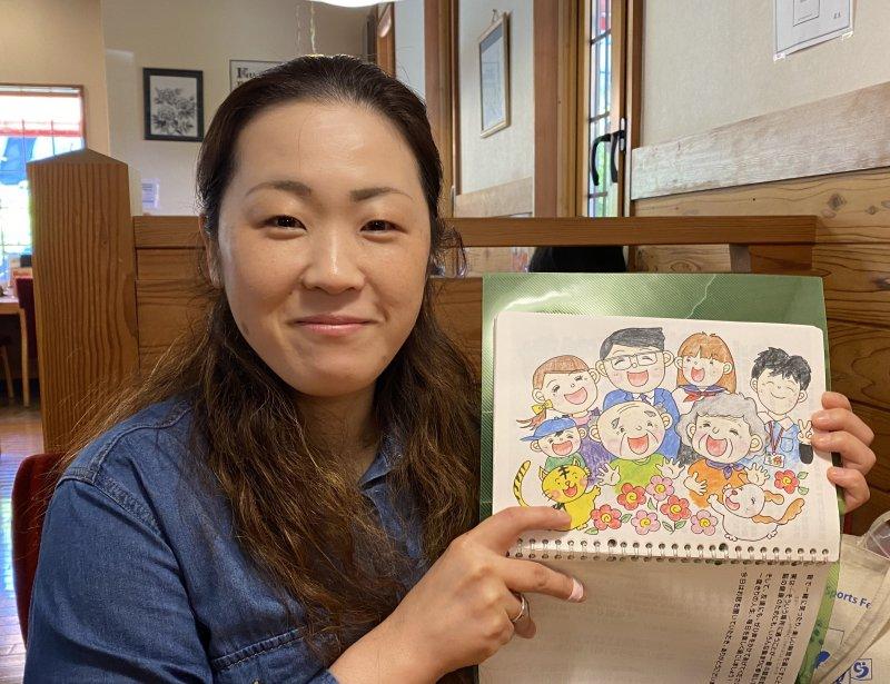 藤田麗子さん(滋賀)が、自宅で旦那さまに認知症のお話を♬