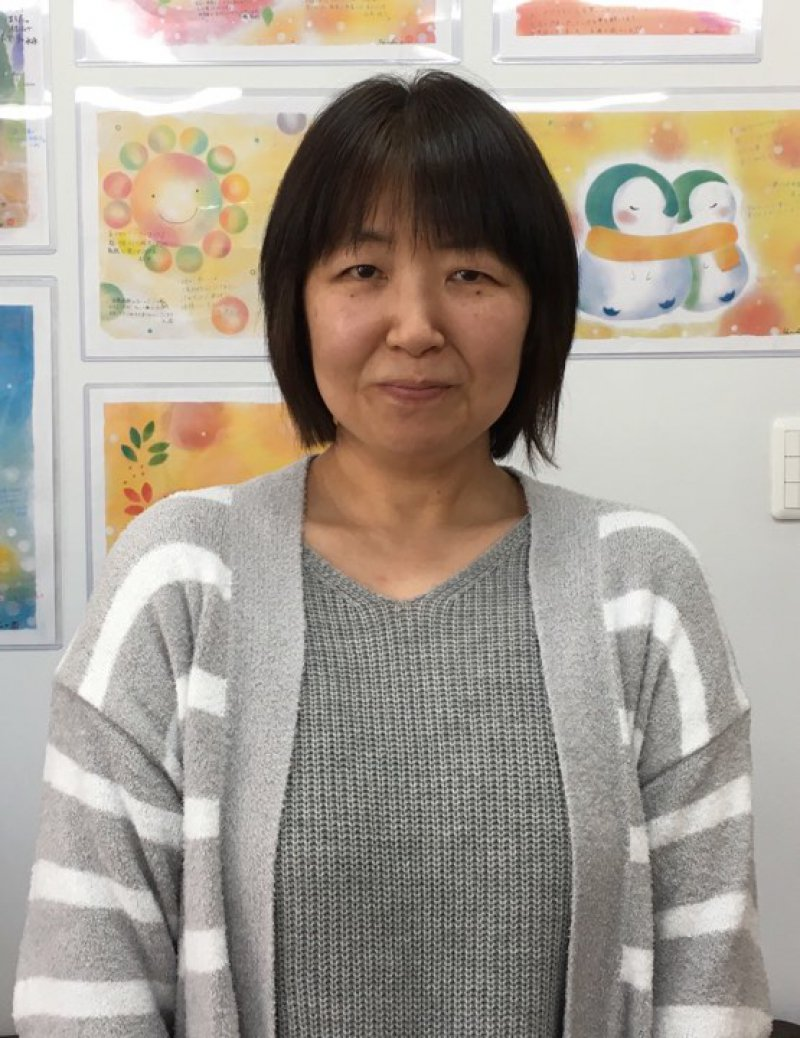 三浦久子さん(東京)が、ランチをしながら友人に認知症のお話を♬