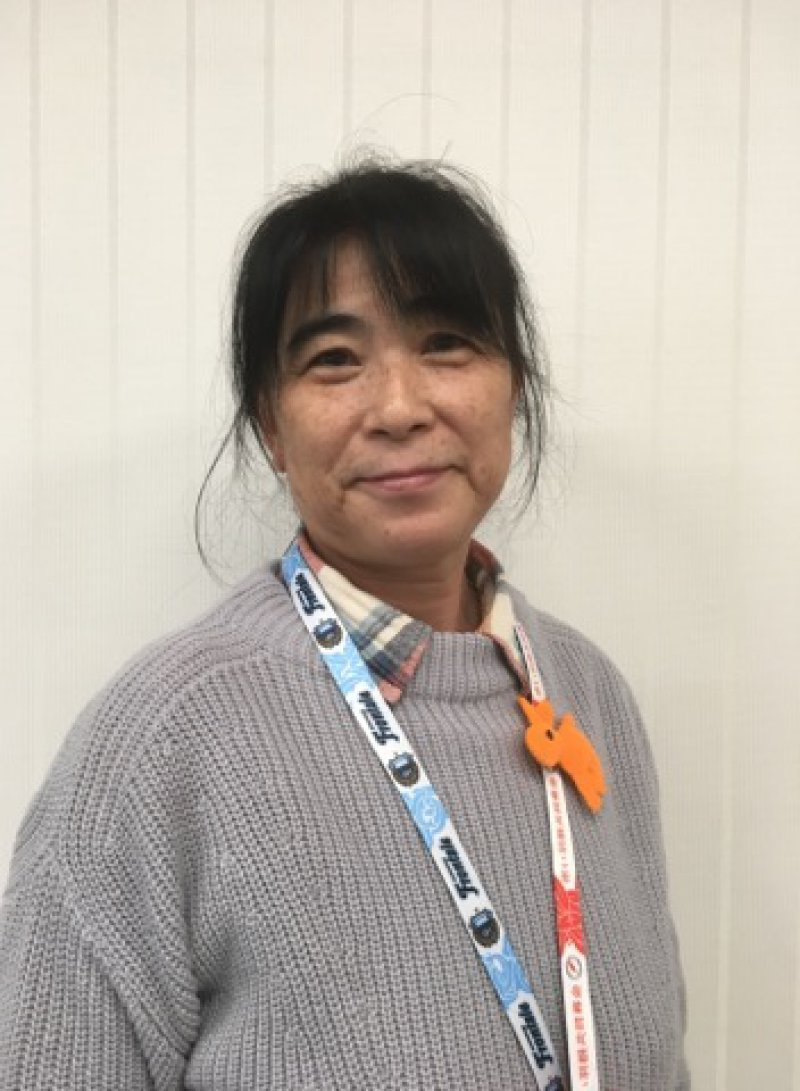 倉石知恵美さん(神奈川)が、区役所にて認知症のお話を♬