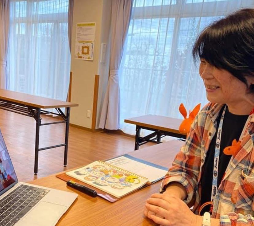 倉石知恵美さん(神奈川)が、オンラインで認知症のお話を♬