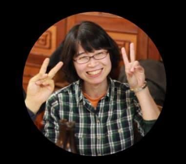 川辺文枝さん(神奈川)が、新入職員さんに紙芝居を使って認知症のお話を♬