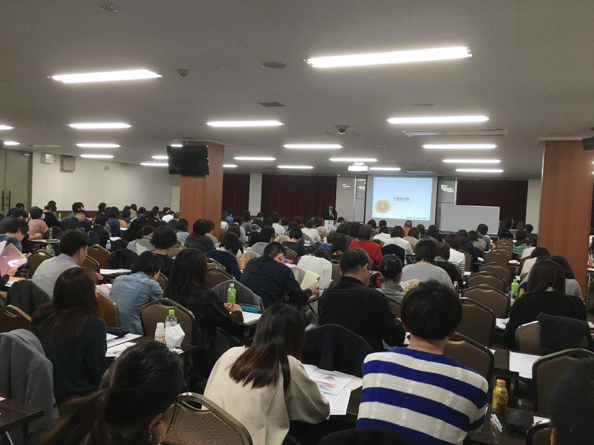 大阪【実践!認知症ケア研修会2018 大阪会場】にて第1部を担当しました。