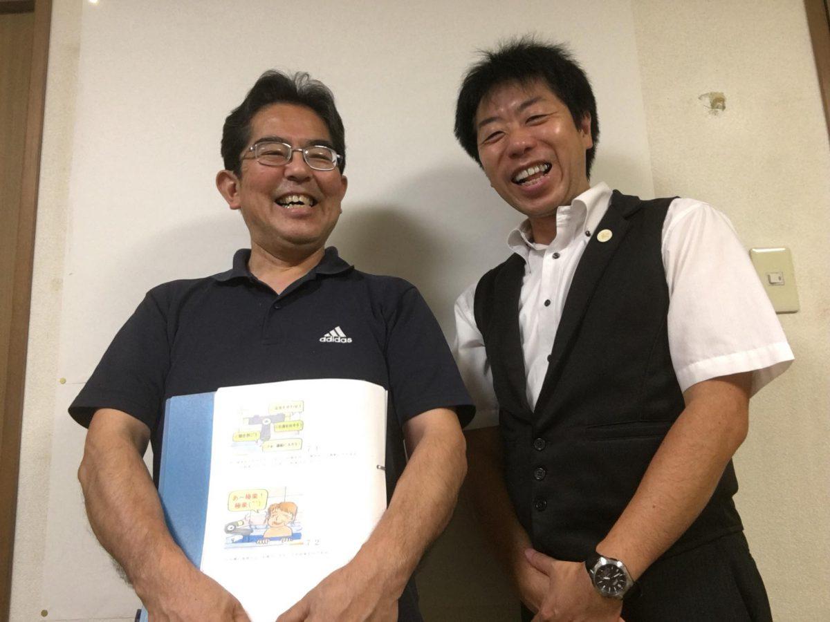 埼玉にて【認知症トレーナー養成講座】《個人レッスン》をしました。