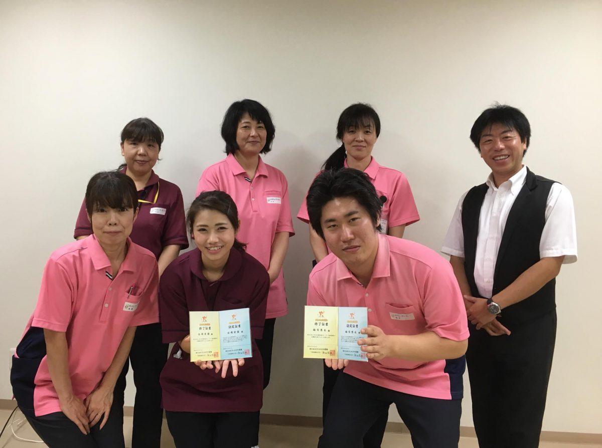 愛知県大府市、【住宅型有料老人ホームさわやかの丘】様よりご依頼いただき《認知症トレーナー養成講座 法人プラン》地域向けコースを実施しました。