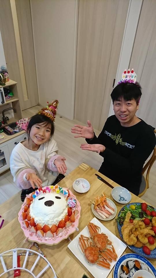 娘の誕生日♬