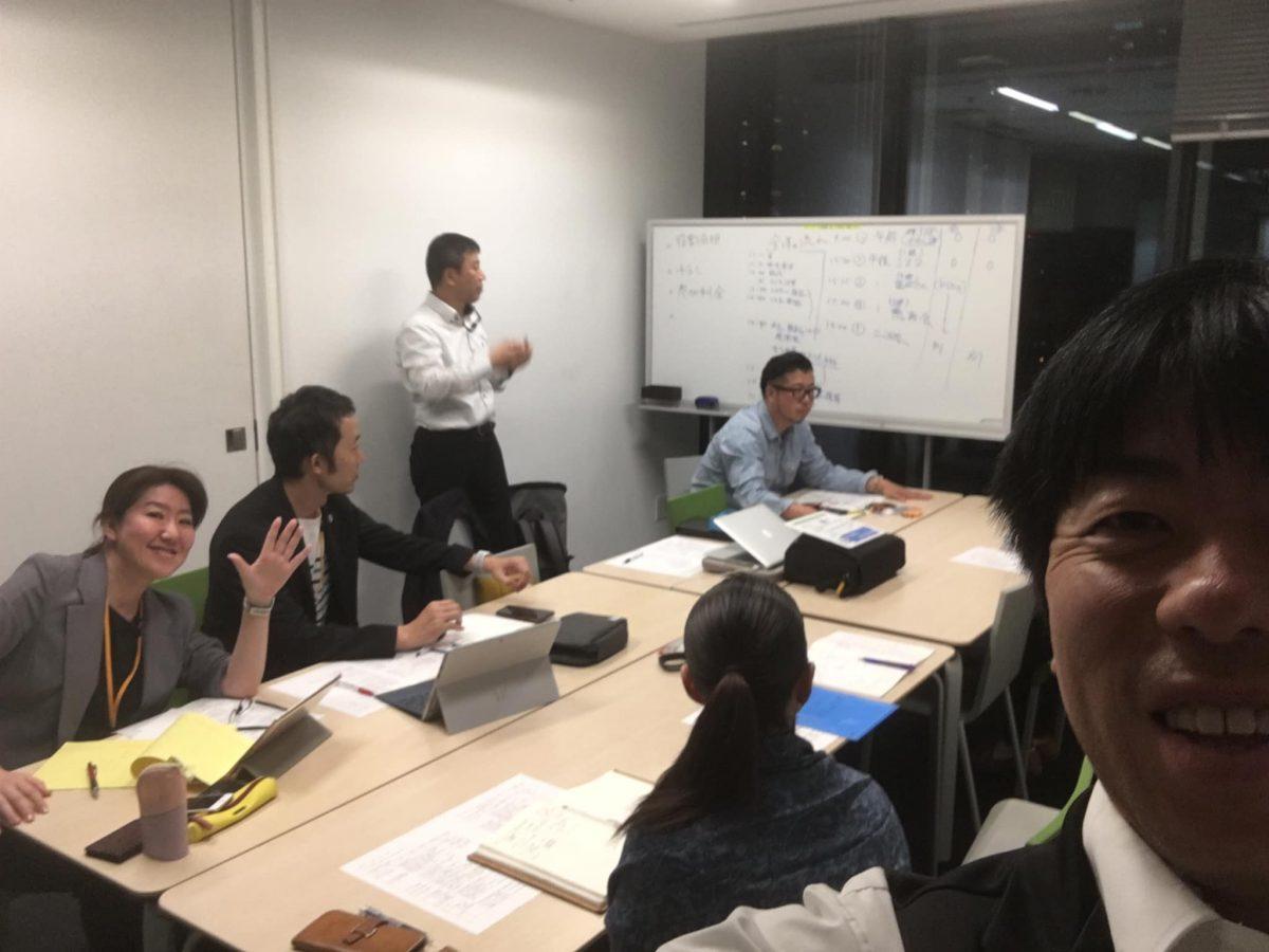 大阪グランフロントにて、きらめき認知症トレーナー協会の打ち合わせ。