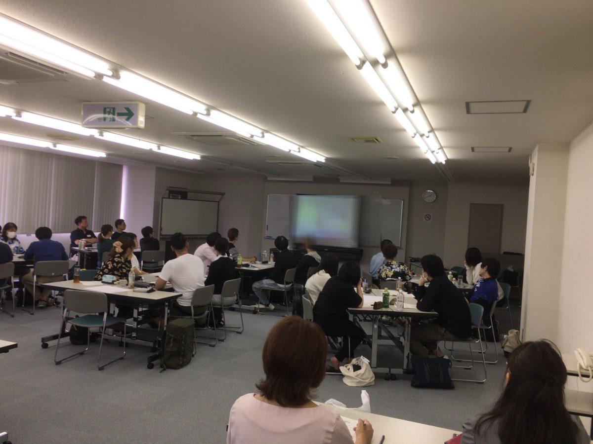 名古屋にて【日本福祉大学社会福祉総合研修センター】様よりご依頼いただき、《名古屋市小規模介護事業所・復職者支援 初心者向け介護技術研修会》にて、『認知症の理解とコミュニケーション技術コース』をしました。