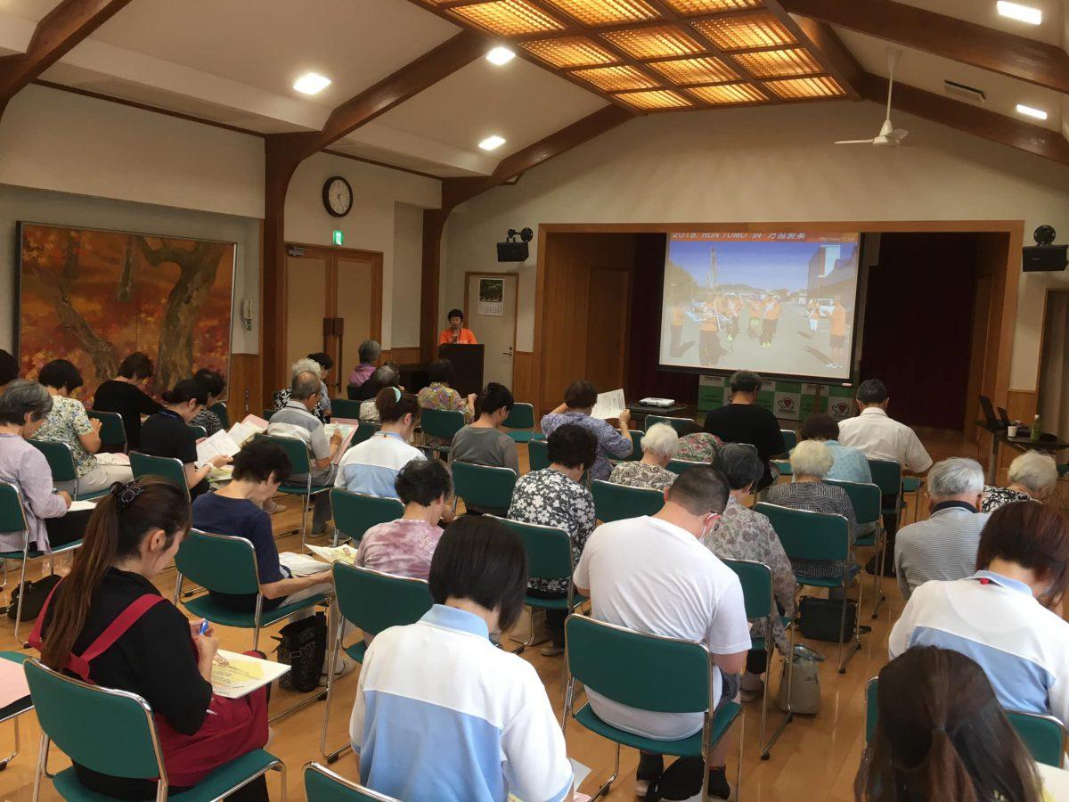 三重県多気郡【多気町 健康福祉課】様よりご依頼いただき、認知症講座をしました。