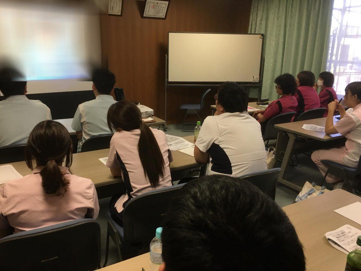 愛知県名古屋市【医療法人 清水会】様の老人保健施設の職員さんを対象に認知症研修をしました。