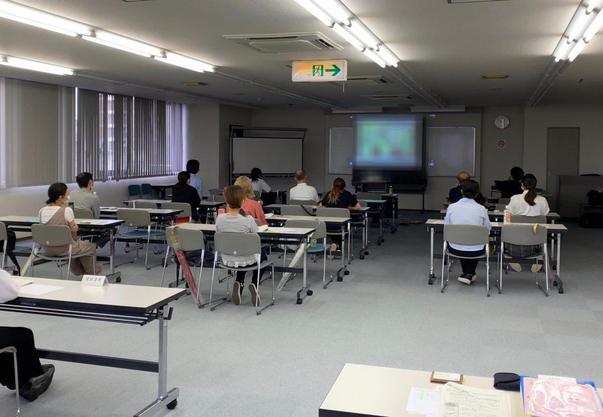 名古屋にて【日本福祉大学社会福祉総合研修センター】様よりご依頼いただき、名古屋市主催初心者向け認知症研修をしました。