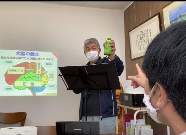 愛媛県西条市にて【認知症トレーナー養成講座 個人レッスン】をしました。